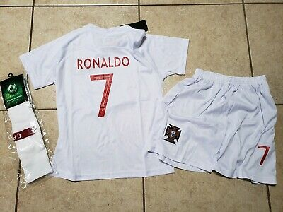sports shoes 0cb7d fe8c3 RONALDO JERSEY #7 Portugal short Sleeve Youth Soccer Jersey ...