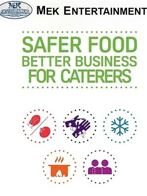 Safer Food Better Business for Caterers Restaurants Takeaways Full Updated Pack