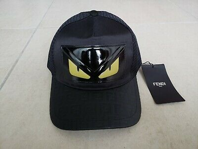 7128f8ed Fendi Monster Cap Snap Back Size Adjustable
