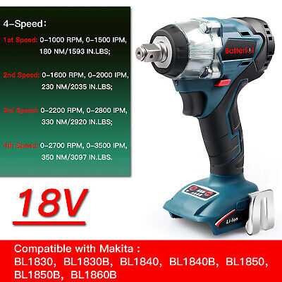 Replacement For Makita 1/2in DTW285Z 18V LXT Brushless Impact Wrench *Body Only*