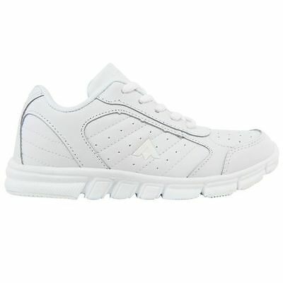 Youth Aerosport Kids Girls Boys Fusion White Casual Running Runners School Shoes
