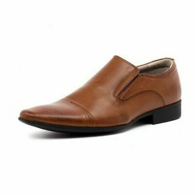 Mens Julius Marlow Jm33 Jm Cory-33 Cory Tan Formal Casual Slip On Dress Shoes