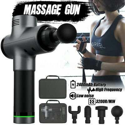 Massage Gun Percussion Massager Muscle Vibrating Relaxing Therapy Deep Tissue