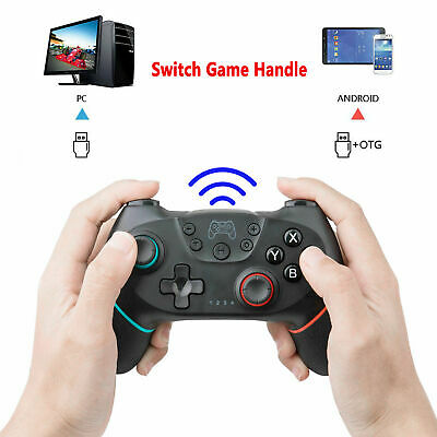 Wireless Bluetooth Gamepad Controller Game Pad Joystick For Nintendo Switch Pro