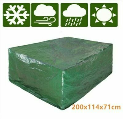 Heavy Duty Waterproof Rattan Cube Outdoor Garden Furniture Dust UV Rain Cover UK