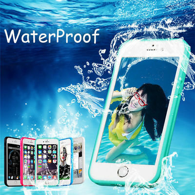 Waterproof Dust ShockProof Hybrid Rubber TPU Case Cover For iPhone 6 Plus 7 UK