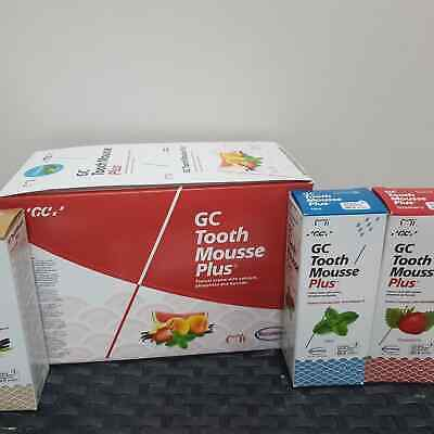 GC Tooth Mousse Plus Topical Tooth Crème Strengthen Tooth Surface 10pc Box