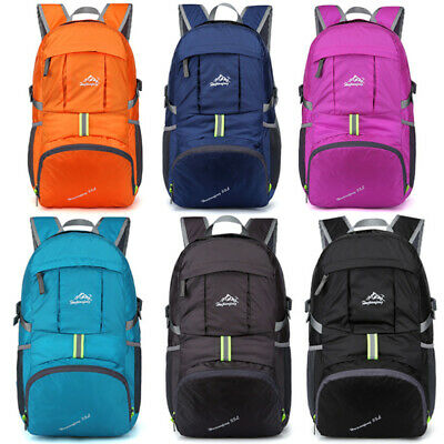 Summer Outdoor Sports Folding Bag Waterproof Resistant Nylon Portable Backpack