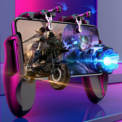 For Android IOS Mobile Phone Game Gamepad Controller Joystick PUBG L1R1 Shooter