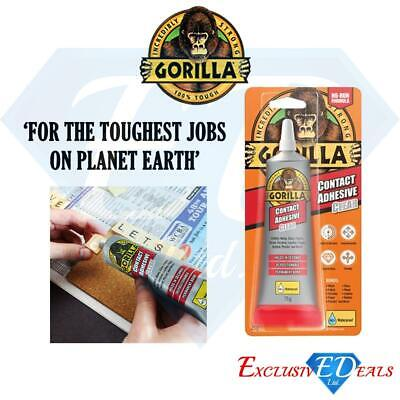 Gorilla Contact Adhesive Clear Glue 75g