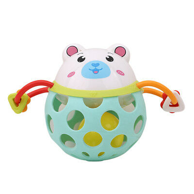 Animals Music Light Rattle Fun Activity Play Gym Rattle Piano Toys Gifts Child D