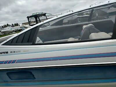 1988 BAYLINER 2855 Ciera Sunbridge 28 Swim Step Rear