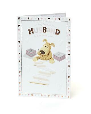 Both of you Celebrate  Happy Anniversary Adorable Boofle New Greetings Card
