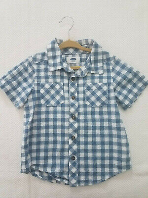Old Navy Gingham-Pattern Shirt for Toddler Boys (Size: 3T)