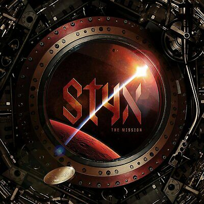 Styx - The Mission (2017)  CD  NEW/SEALED  SPEEDYPOST