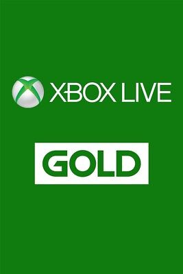 Xbox LIVE 1 Month Gold Membership For Microsoft Xbox One Xbox 360