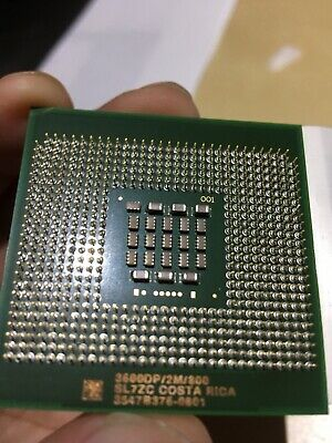 CPU Intel Xeon 3.6GHz Single Core 3600DP/2M/800 CPU Only (PN: SL7ZC)