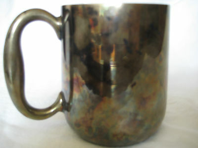 Vintage Silver Plated Mug/Cup - Made in England