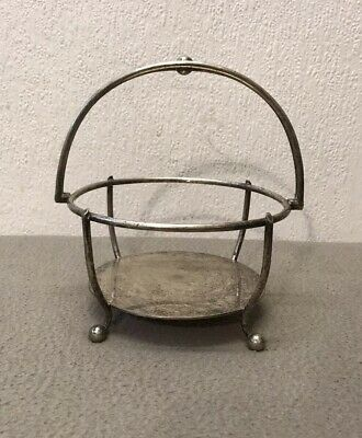 Antique Victorian Sliver Plated Fruit Or Bread Basket By R.Spiller Islington