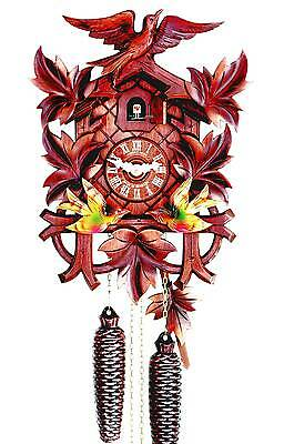 Hubert Herr, lovely new 8 day Black Forest made mechanical cuckoo clock.