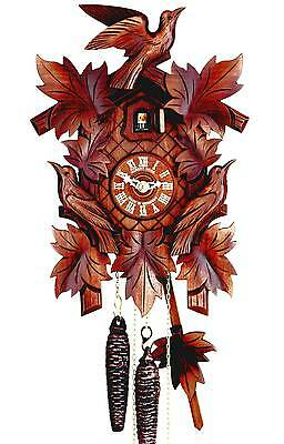 Hubert Herr,   Black Forest  new mechanical 1 day weight driven cuckoo clock.