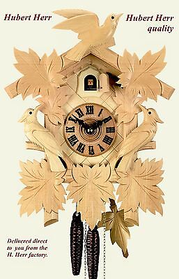 Hubert Herr,   lovely  Black Forest 1 Day cuckoo clock with mechanical movement.