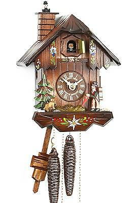 Hubert Herr,  New 1 Day wieght driven all wood cuckoo clock, (The clock seller)