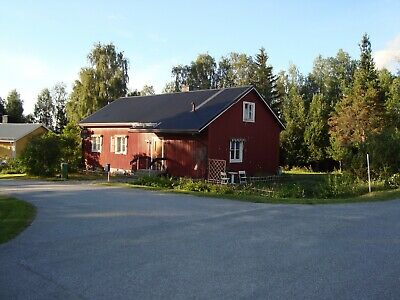 Typical Swedish House for Sale with freehold land