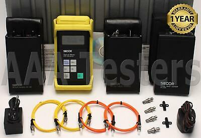 Siecor Corning OTS-100 SM MM Fiber Loss Test Set w/ VFL OTS-110 OS-210XD OS-100D