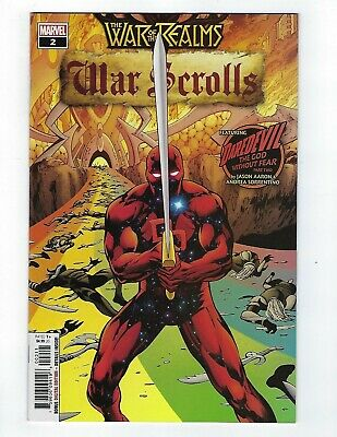 War Of The Realms: War Scrolls # 2 Cover A NM Marvel