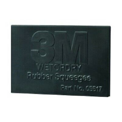 "3M 05518 Wetordry Rubber Squeegee, 2"" x 3"", 50 Pack"