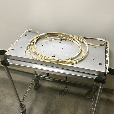 "Heating Plate Voltage: 240V, Power: 7800W, Dimensions: 28.125"" x 14.0625"" x 1.5"""
