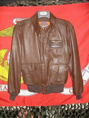 658c1ac28 COOPER A-2 AIR Force Flying Tigers Goatskin Bomber Jacket WWII ...