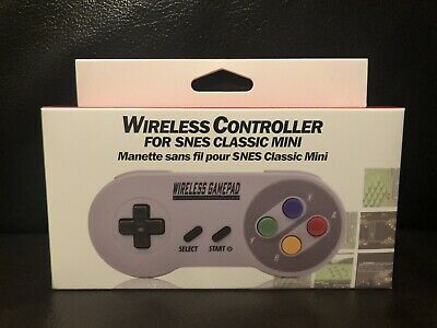 Wireless Controller for Nintendo Switch Online SNES Compatible