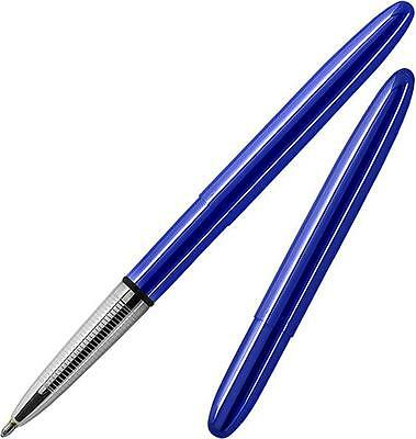 Fisher Blueberry Translucent Bullet Space Pen Moonscape Gift Boxed 400BB **NEW**