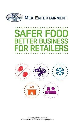 Safer Food Better Business Retailers Pack 2019 SFBB with 12 Free Month Diary