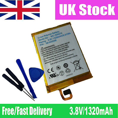 Replacement Battery Cell UK Stock CE TomTom Go 920 0 1300 mAh Li-PL