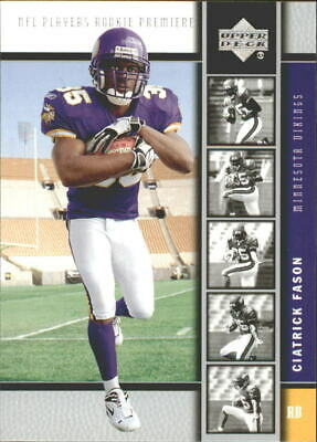 2005 Upper Deck Rookie Premiere Football (Pick Your Players)