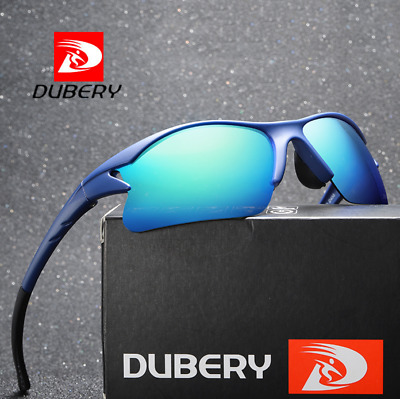 DUBERY Men Polarized Sunglasses Outdoor Driving Fishing Riding Sport Glasses New
