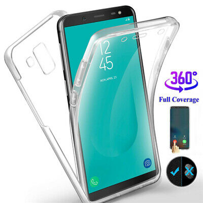 For Samsung Galaxy J3 J5 J4 J6 J7 J8 ,2 in 1 360° Full Protect Hybrid Case Cover