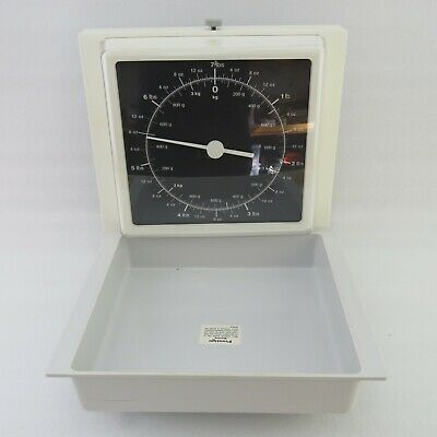 Vintage Prestige Wall Hanging Kitchen Scales - W. Germany NEW IN BOX