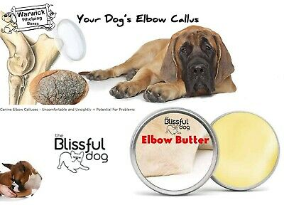 Blissful Dog Elbow Butter All Natural Balm Conditions Dog's Calluses 1oz Tin