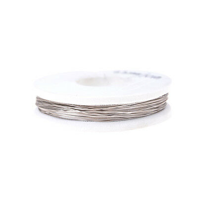 High-quality 0.3mm Nichrome Wire 10m Length Resistance Resistor AWG Wire J  NB