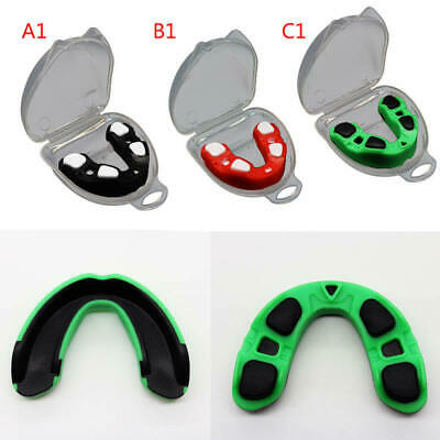 Sports Mouthguard Mouth Guard Gumshield Teeth Protector Soft NEW AR1