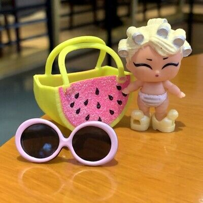 LOL Surprise Lil Sisters dolls eye spy baby Countess Color Change doll With Bag