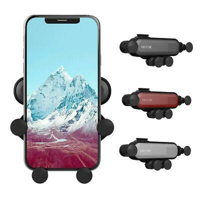 Universal Auto-Grip 360° Gravity Deformable Car Phone GPS Mount Air Vent Holder