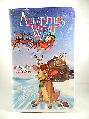 Annabelle's Wish (VHS, 1997, Clam Shell)