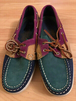 Navy Lace Sebago Ladies Up Docksides Shoes Boat Leather