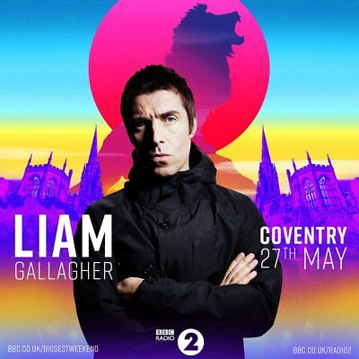 Liam Gallagher DVD 2018 Live BBC Music The Biggest Weekend Greedy Soul Oasis