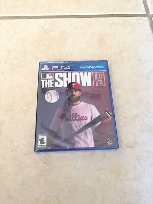 MLB The Show 19 (PlayStation 4, 2019) Brand NEW SEALED